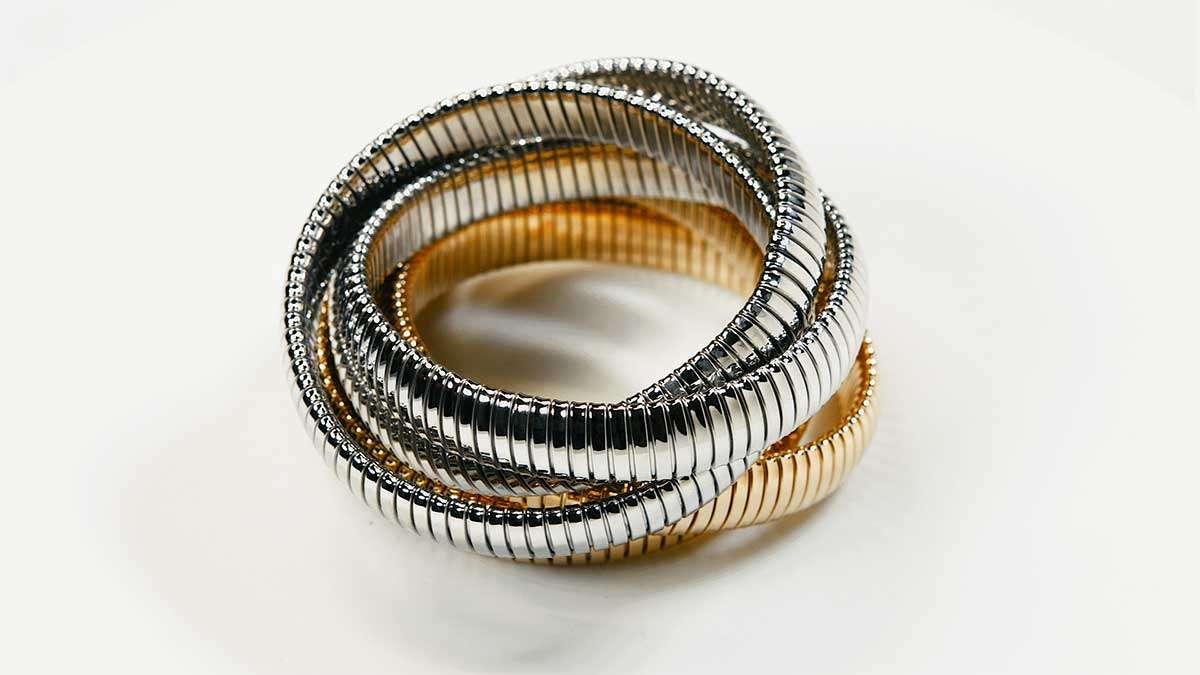 New Silver Rolling Bracelet
